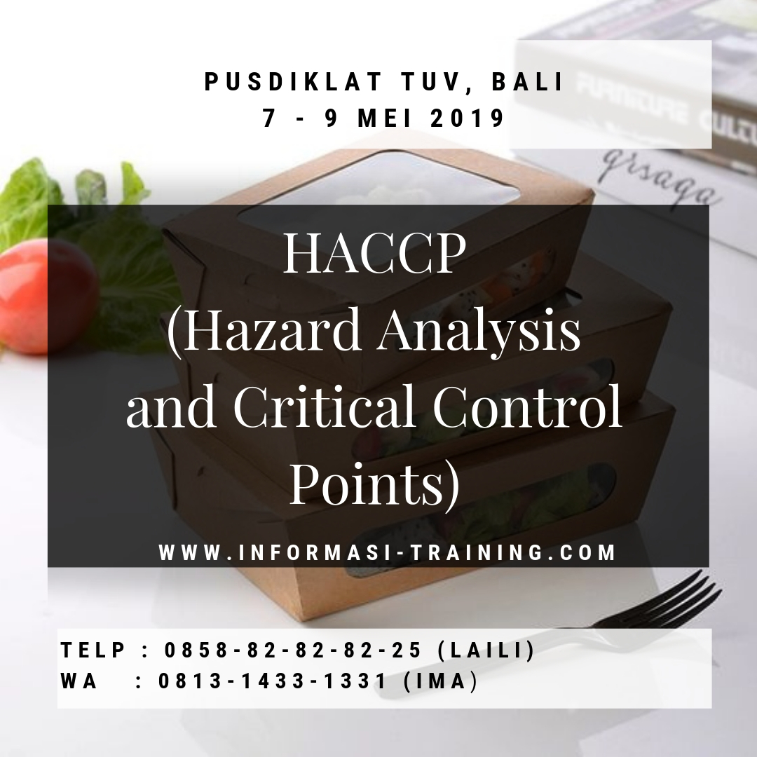 Hazard Analysis & Critical Control Point