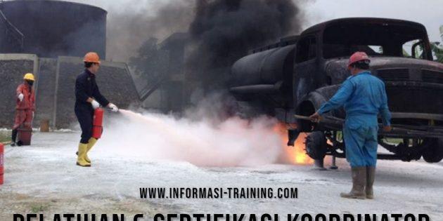Pelatihan & Sertifikasi Kompetensi  Bagi Koordinator Unit Penanggulangan Kebakaran (Tingkat B) – Sertifikasi Depnakertrans (PASTI JALAN)